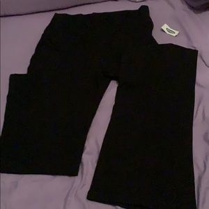 "Old Navy ""Wideleg Rollover"" Yoga Pants"